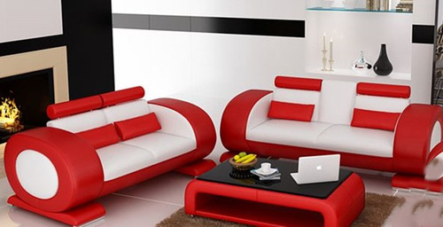 CAEIN  (R7004D)  3 SEATER + 2 SEATER LOUNGE - CHOICE OF LEATHER AND ASSORTED COLOURS AVAILABLE