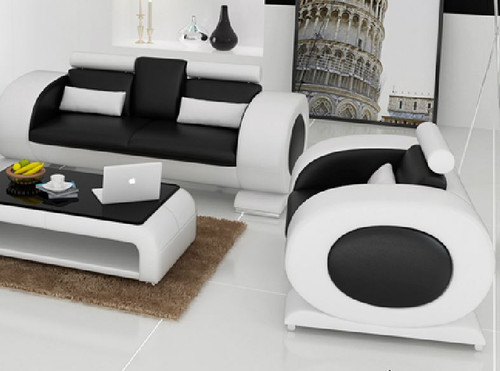 CAEIN  (R7004D)  3 SEATER + 1 SEATER + 1 SEATER LOUNGE  - CHOICE OF LEATHER AND ASSORTED COLOURS AVAILABLE