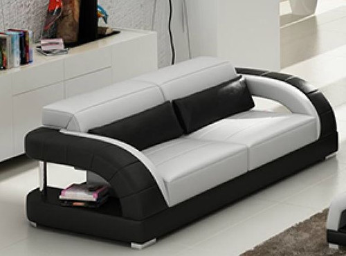 DANLILY (G8016D) 2 SEATER TOP BONDED LEATHER - CHOICE OF LEATHER AND ASSORTED COLOURS AVAILABLE
