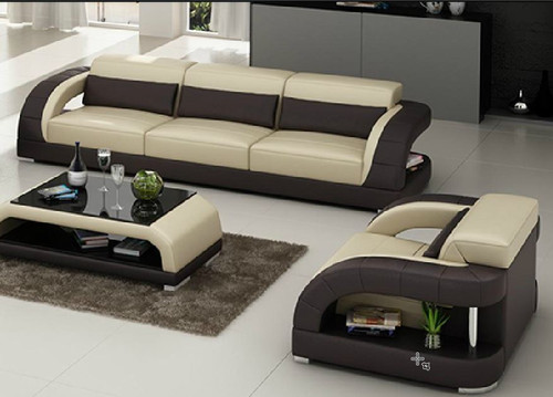 DANLILY (G8016D) 3 SEATER + 1 SEATER + 1 SEATER LOUNGE  -  CHOICE OF LEATHER AND ASSORTED COLOURS AVAILABLE
