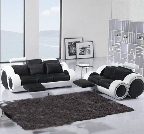 SIRENO ( F6005B) 3RR + 2RR RECLINER LOUNGE SUITE -  ASSORTED  COLOURS