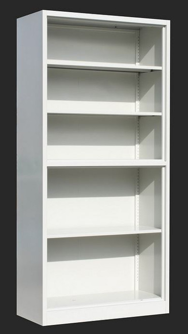 ADDIS (LLIE07) FIVE - SHELF  OFFICE   FILIING STORAGE  - GREY