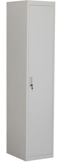 VILLIANIX  (LLIE02) 2   DOOR STORAGE  LOCKER 380(W) x 450(D) - GREY