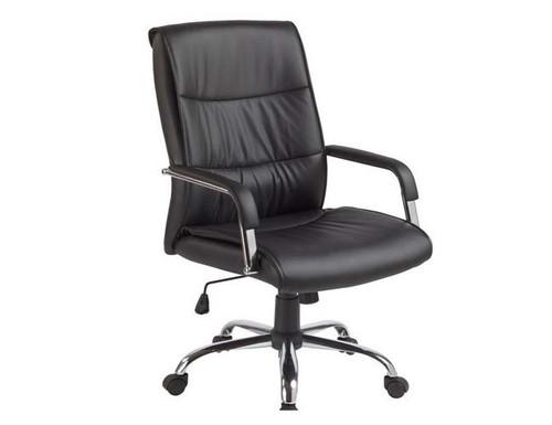 BOTWAN  (LDF-6101) EXECUTIVE PADDED OFFICE CHAIR - BLACK