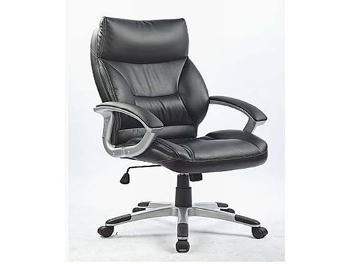 PENTLEY  (LDF-6107) EXECUTIVE  OFFICE CHAIR  WITH LUMBAR SUPPORT  - BLACK