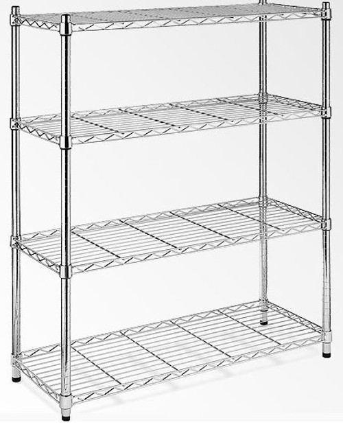HELENIX  (MODEL-JSH-SW06) MODULAR CHROME/ WIRE SHELF (1800 x 1200 x 600)
