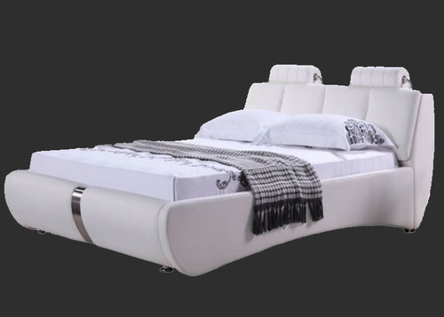 KING JAVENSEED  LEATHER   + PVC BED (MODEL- C557) - ASSORTED COLOURS