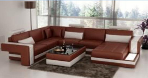 HEBRON  CHAISE LOUNGE( MODEL-G1117) IN BONDED LEATHER + PVC - CHOICE OF LEATHER AND ASSORTED COLOURS AVAILABLE