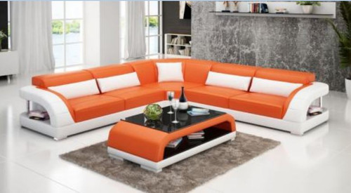 DANDY BONDED LEATHER CORNER  LOUNGE SUITE ( MODEL-G1109B) - CHOICE OF LEATHER AND ASSORTED COLOURS AVAILABLE
