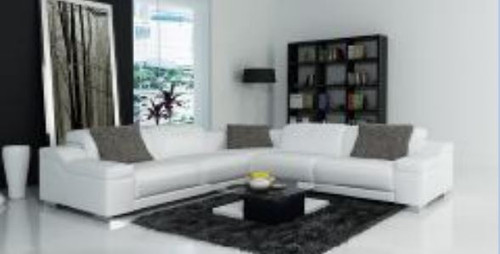 OLIVAR III LEATHER  CORNER LOUNGE (MODEL- G1088B) - CHOICE OF LEATHER AND ASSORTED COLOURS AVAILABLE
