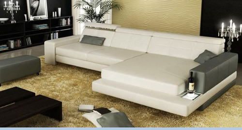 BALLE LEATHER CHAISE LOUNGE (MODEL- G1077B) - CHOICE OF LEATHER AND ASSORTED COLOURS AVAILABLE