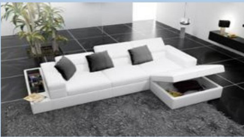 SANSANNAH (II) 3 SEAT + 1 SEAT + OTTOMAN  LEATHER  LOUNGE (MODEL- G1070C) - CHOICE OF LEATHER AND ASSORTED COLOURS AVAILABLE