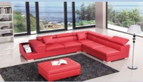 SANSANNAH (III)   LEATHER CORNER LOUNGE (MODEL- G1070B) - CHOICE OF LEATHER AND ASSORTED COLOURS AVAILABLE