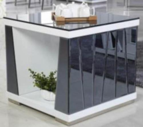 TORINO  LAMP TABLE (TORLT) - WHITE