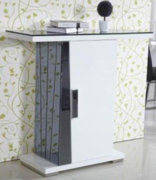 TORINO SOFA TABLE (TORST) - 1100(H) X 1200(W) X 400(D) -  WHITE