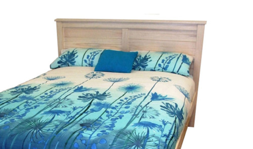 BAYSIDE (ABY205) DOUBLE BEDHEAD - 1200(H) - ASSORTED COLOURS AVAILABLE (PICTURED IN WHITEWASH)
