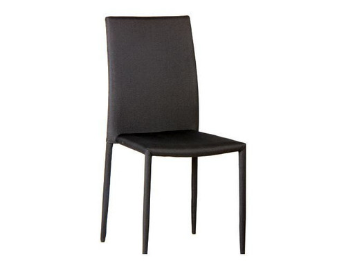 CHOWA DINING CHAIR (MODEL - UDC355)  - BLACK OR WHITE