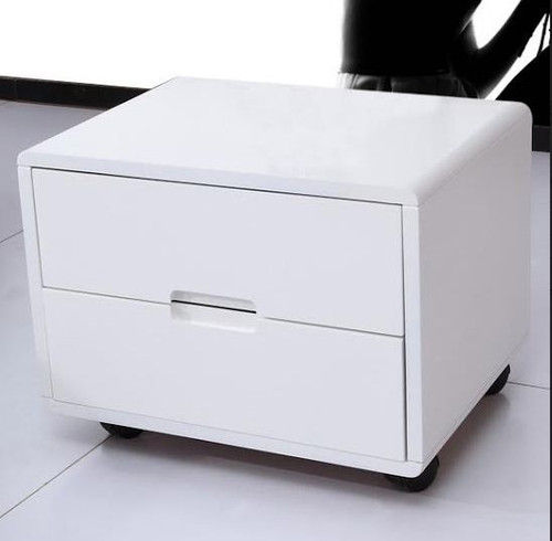 TORENIO BEDSIDE  TABLE  (MODEL-#25) - WHITE ONLY
