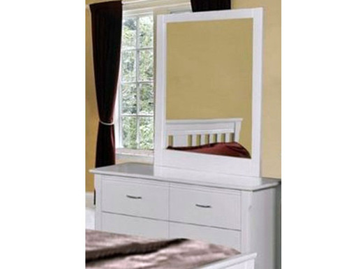 PARKVIEW (MODEL 18-15-13-1-14-25) 6 DRAWER DRESSING TABLE WITH  MIRROR - WHITE