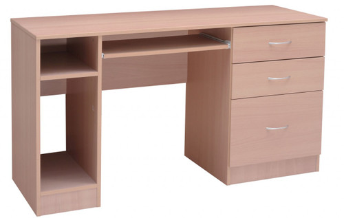 KING KONG DESK - 1300(W) X 550(D)  -  WHITE (NOT AS PICTURED)