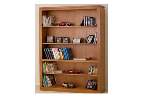 AUSSIE (7 x 4) TASMANIA OAK (WTO) BOOKCASE - 2100(H) X 1200(W) - (LOCAL MADE) - ASSORTED COLOURS