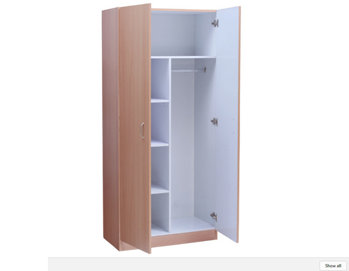 MISSION PANTRY COMBO - 1800(H) X 800(W) - OAK (PICTURED IN BEECH)