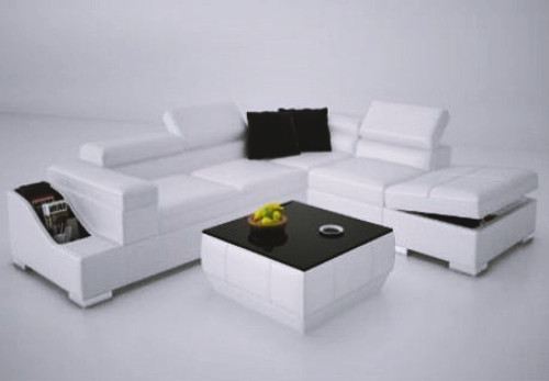 CTA  LEATHER  CORNER LOUNGE ( MODEL-K5006C) - CHOICE OF LEATHER AND ASSORTED COLOURS AVAILABLE