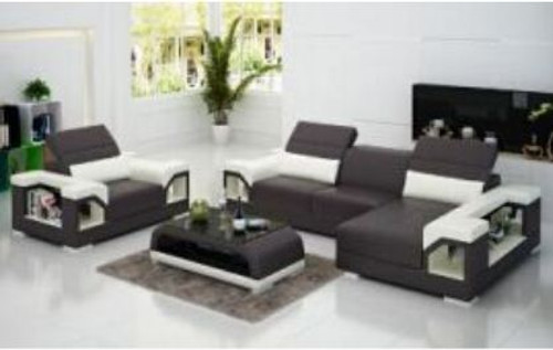 HALINGTON LEATHER  CHAISE LOUNGE ( MODEL-G8014E) - CHOICE OF LEATHER AND ASSORTED COLOURS AVAILABLE