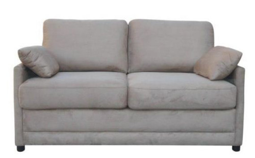 SOFTEE (V-3040) FABRIC DOUBLE SOFA BED - COBBLESTONE