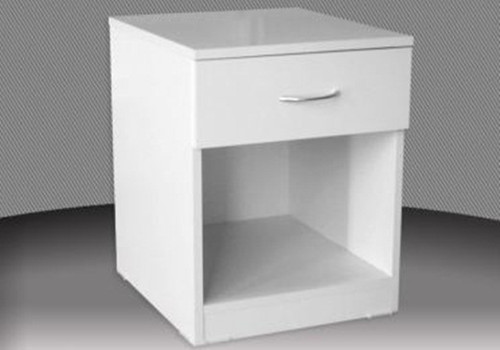 FAIRMONT (BSD1) ONE DRAWER BEDSIDE - ASSORTED COLOURS