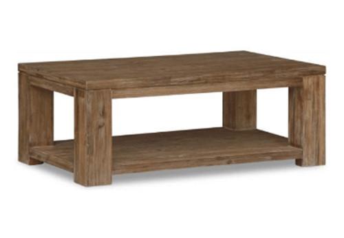 ASHTON  (VAN-002) COFFEE TABLE  -  1200(W) X 700(D) -LIGHT OAK