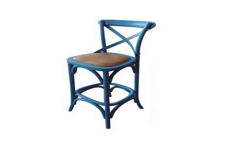 BARISTA (VBR-013) BAR CHAIR - SEAT: 760(H) -   BLUE