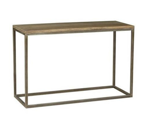 BYRON (BN-002) CONSOLE TABLE  - 780(H) X 1100(W) X 40(D) - DISTRESSED NATURAL