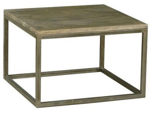 BYRON (BN-003) LAMP TABLE  - DISTRESSED NATURAL