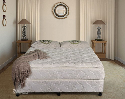 DOUBLE ULTIMATE PILLOW TOP MATTRESS - MEDIUM FIRM