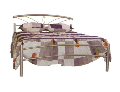 DOUBLE OPAL METAL BED - ASSORTED COLOURS