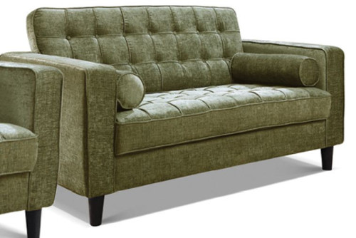 RITZ 2 + 2  SEATER  FABRIC UPHOLSTERED LOUNGE SUITE - ASSORTED COLOURS