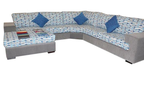 ANTHONY FABRIC  UPHOLSTERED CHAISE  LOUNGE SUITE
