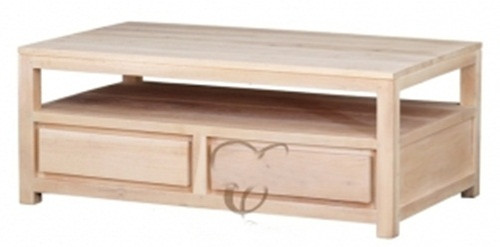 ARMSTERDAM  4 DRAWER COFFEE TABLE ( CT 004 TA) -1200(W) X 700(D) - WASHED