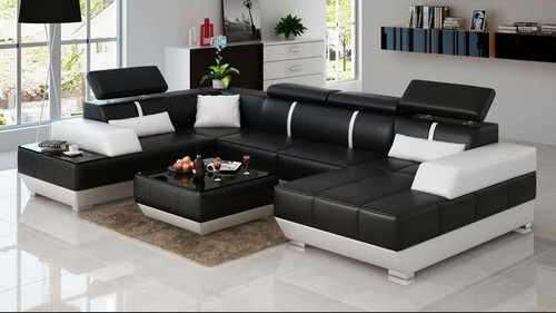 MARSAS (K5015) CORNER LOUNGE SUITE WITH CHAISE + COFFEE TABLE - ASSORTED COLOURS