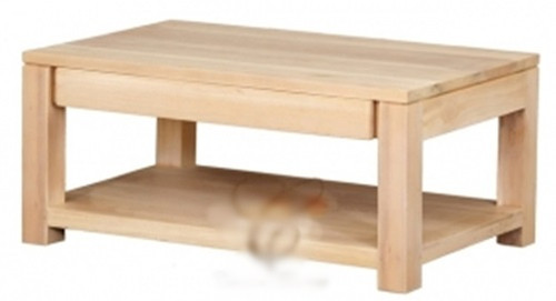 AMSTERDAM  2 DRAWER COFFEE TABLE (CT 002 TA) -  900(W) X 600(D) -WASHED