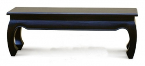 CHINESE (BE 158 35 OL) DINING  BENCH -450(H) X 1280(W)  - CHOCOLATE