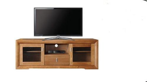 ECCO  2 DOOR 1 DRAWER TV UNIT -  1600(W) - LIGHT OAK