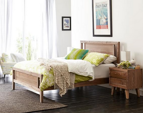 QUEEN OHKLAHOMA BED  ( MODEL 1-19-3-5-14-19-9-15-14)