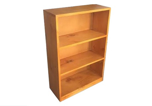 BUDGET BOOKCASE WITH PLY BACK (3 X 2) - 900(H) X 600(W) - ASSORTED COLOURS
