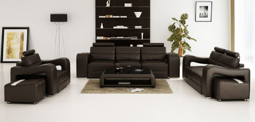 BENSALEM  3S +  3S  LEATHERETTE   LOUNGE SUITE (MODEL-F3008D)  - ASSORTED COLOURS