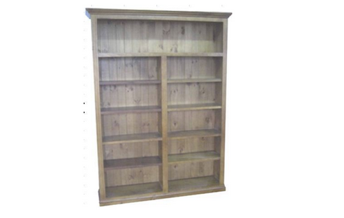 COLONIAL  FEDERATION  BOOKCASE  - 2100(H) X 1500(W) - ASSORTED COLOURS