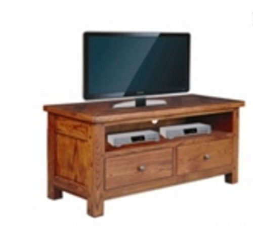 DUOLYN   AMERICAN OAK  LOWLINE TV UNIT - (MODEL16-1-18-1-13-15-21-914-20) -  575(H) X 1200(W)  -  AS PICTURED