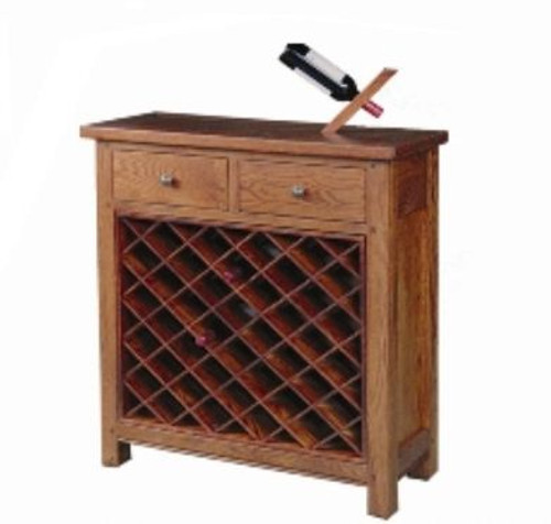 DUOLYN 2 DRAWER AND 40 BOTTLE  WINE RACK  (MODEL16-1-18-1-13-15-21-914-20) -  960(W) X 360 (D) AS PICTURED