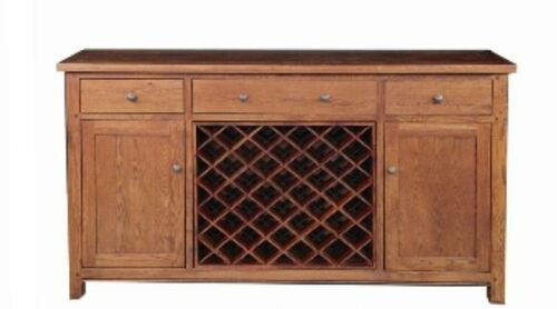 DUOLYN  3 DRAWER AND 40 BOTTLE WINE RACK  (MODEL16-1-18-1-13-15-21-914-20) - 1015(H) x 1900(W) x 450(D)  - AS PICTURED